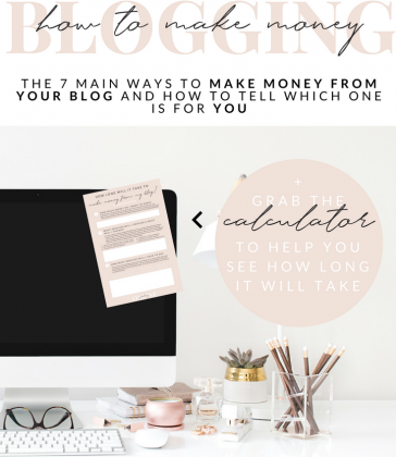 HOW TO MAKE MONEY BLOGGING | 7 TYPES OF INCOME