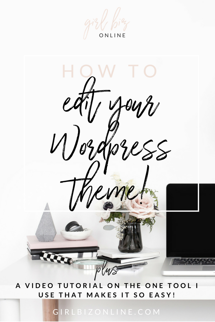 How To Edit a Wordpress Theme!