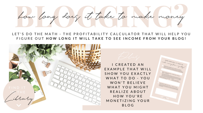 How Long Will It Take to Make Money Blogging?