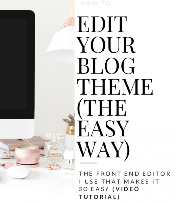 HOW TO EDIT YOUR WORDPRESS THEME (THE ONE TOOL I USE THAT MAKES IT SO EASY!)