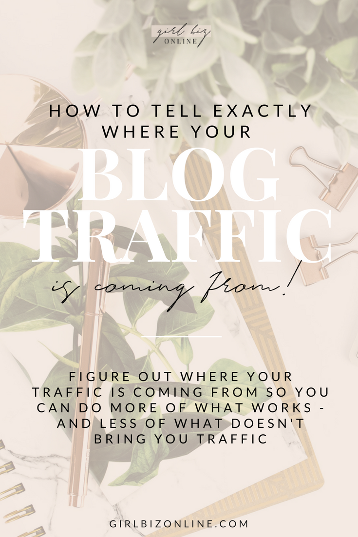 HOW TO TELL EXACTLY WHERE YOUR TRAFFIC IS COMING FROM
