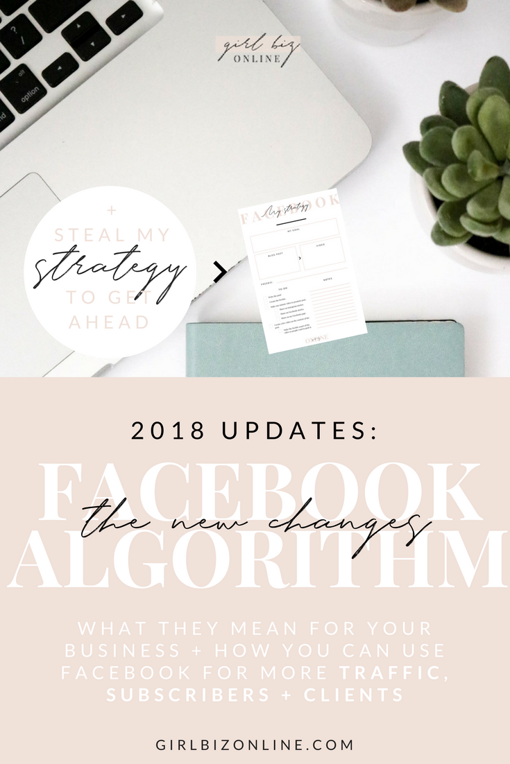 FACEBOOK ALGORITHM UPDATE 2018: MY STRATEGY CHANGES (THAT YOU SHOULD MAKE TOO)