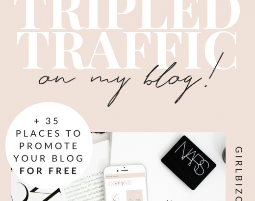 HOW ONE POST TRIPLED MY BLOG TRAFFIC (+ how to find your traffic boosting idea)